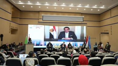 صورة افتتاح المنتدى الإقليمي الأول للعلم المفتوح في المنطقة العربية بجامعة الجلالة بالعين السخنة