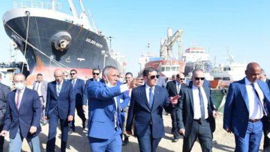 صورة الرئيس التنفيذي لهيئة الاستثمار يتفقد المنطقة الحرة في عتاقة والأدبية بمحافظة السويس