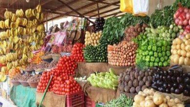 صورة أسعار الخضر والفاكهة في سوق العبور اليوم