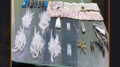 صورة مجهودات قطاع مكافحةالمخدرات والأسلحة والذخائر