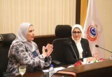صورة وزيرتا التضامن الاجتماعي والصحة تبحثان التعاون لدعم منظومة الرعاية الصحية والاجتماعية للمواطنين