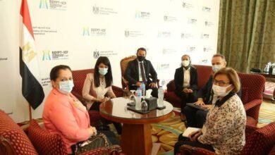 صورة وزيرة التعاون الدولي تلتقي الأمين العام المساعدة للأمم المتحدة