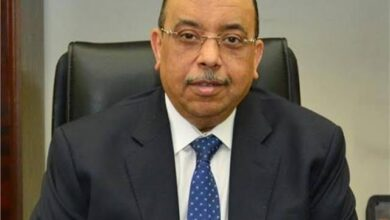 صورة اللواء محمود شعراوىتنظيم عمل المنشآت الملوثة خلال فترة السحابة السوداء