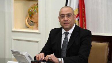 صورة وزير الإسكان يتابع الموقف التنفيذي للمشروعات المختلفة الجاري تنفيذها بمدينة العلمين الجديدة