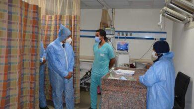 صورة محافظ المنيا يكلف نائبه بمتابعة الحالة العامة داخل المستشفيات ومراكز تلقي اللقاح