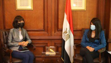 صورة وزيرة التعاون الدولي الاستثمار في رأس المال البشري على رأس أولويات الدولة المصرية