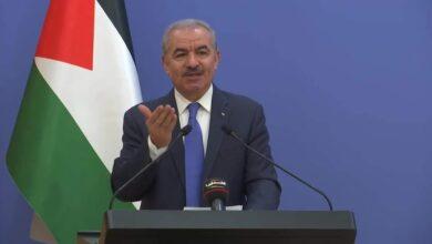 صورة رئيس الوزراء الفلسطيني يدعو الأمم المتحدة لالزام إسرائيل بتطبيق اتفاقية جنيف الثالثة المتعلقة بالأسرى