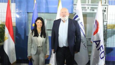 صورة وزيرة التعاون الدولي تشيد بالشراكة مع الاتحاد الأوروبي والوكالة الفرنسية للتنمية في دعم جهود الدولة لتحقيق التنمية