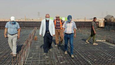 صورة مسئولو الإسكان يتفقدون أعمال تنفيذ محطة رفع مياه شرب جديدة بمدينة بدر