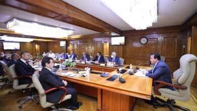 صورة وزير التعليم العالي يعقد اجتماعًا مع ممثلي أكاديمية Deutche Bahns الألمانية ومؤسسة السويدي وهيئة السكك الحديدية