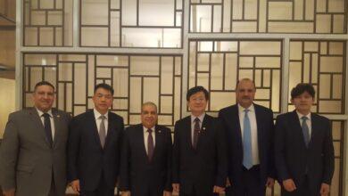 صورة وزير الدولة للإنتاج الحربي يلتقي وزير برنامج إدارة المشتريات الدفاعية بكوريا الجنوبية وعدد من ممثلي الشركات العالمية