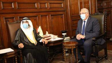 صورة وزير الزراعة يبحث مع رئيس العربية للاستثمار والإنماء الزراعي زيادة فرص التعاون بين الجانبين